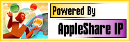 Powered By AppleShare IP logo